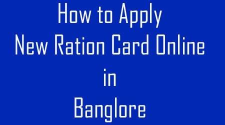 Banglore Ration Card-min
