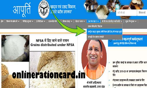UP Ration Card List NFSA SUCHI