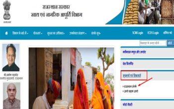 Rajasthan – Ration Card Complaint Online कैसे करें, Antyodaya Ration Card Complaint Number