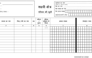 Jharkhand Ration Card Application Form in Hindi Download Online PDF {2021}